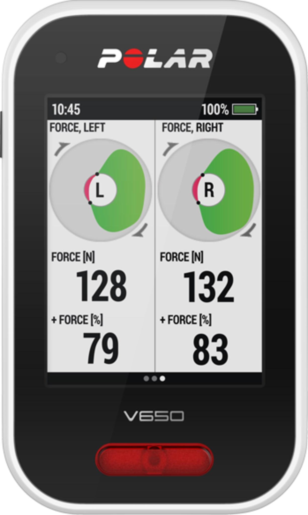 V650 HR GPS Sykkelkomputer
