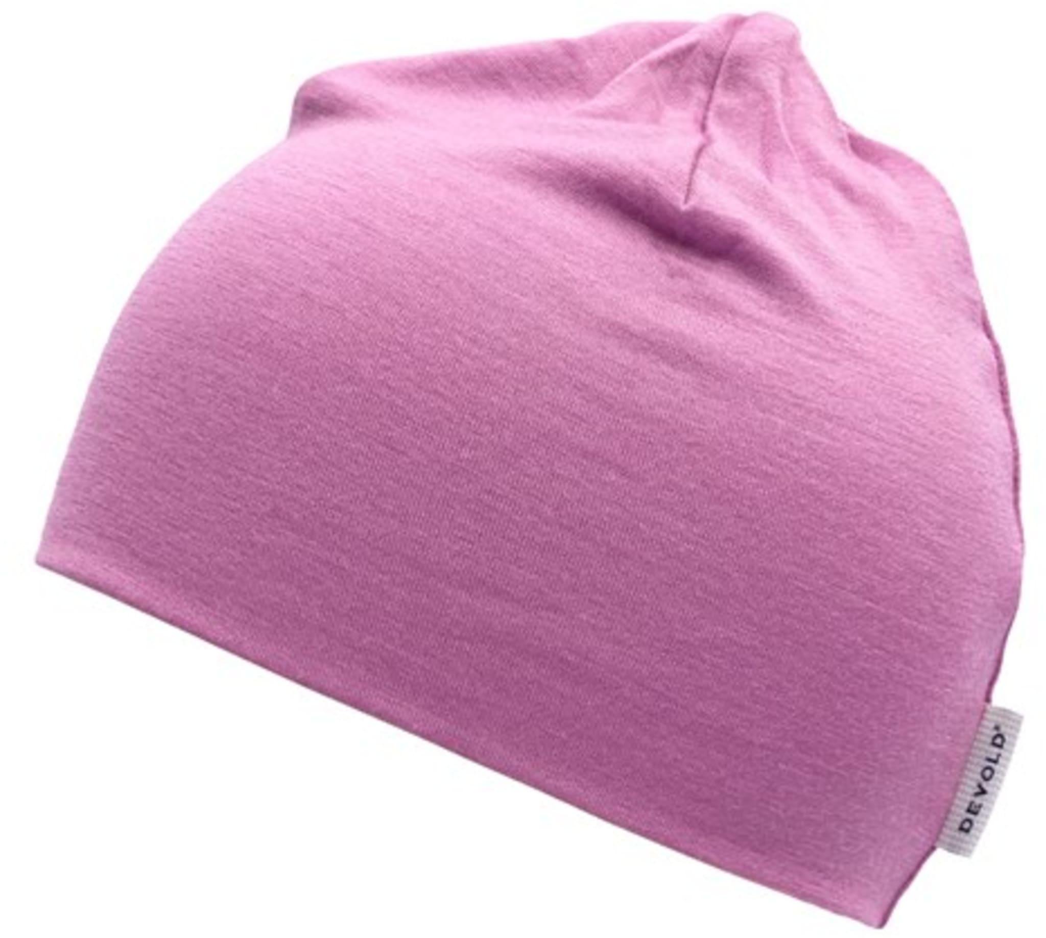 Lett og tynn lue til barn i merinoull