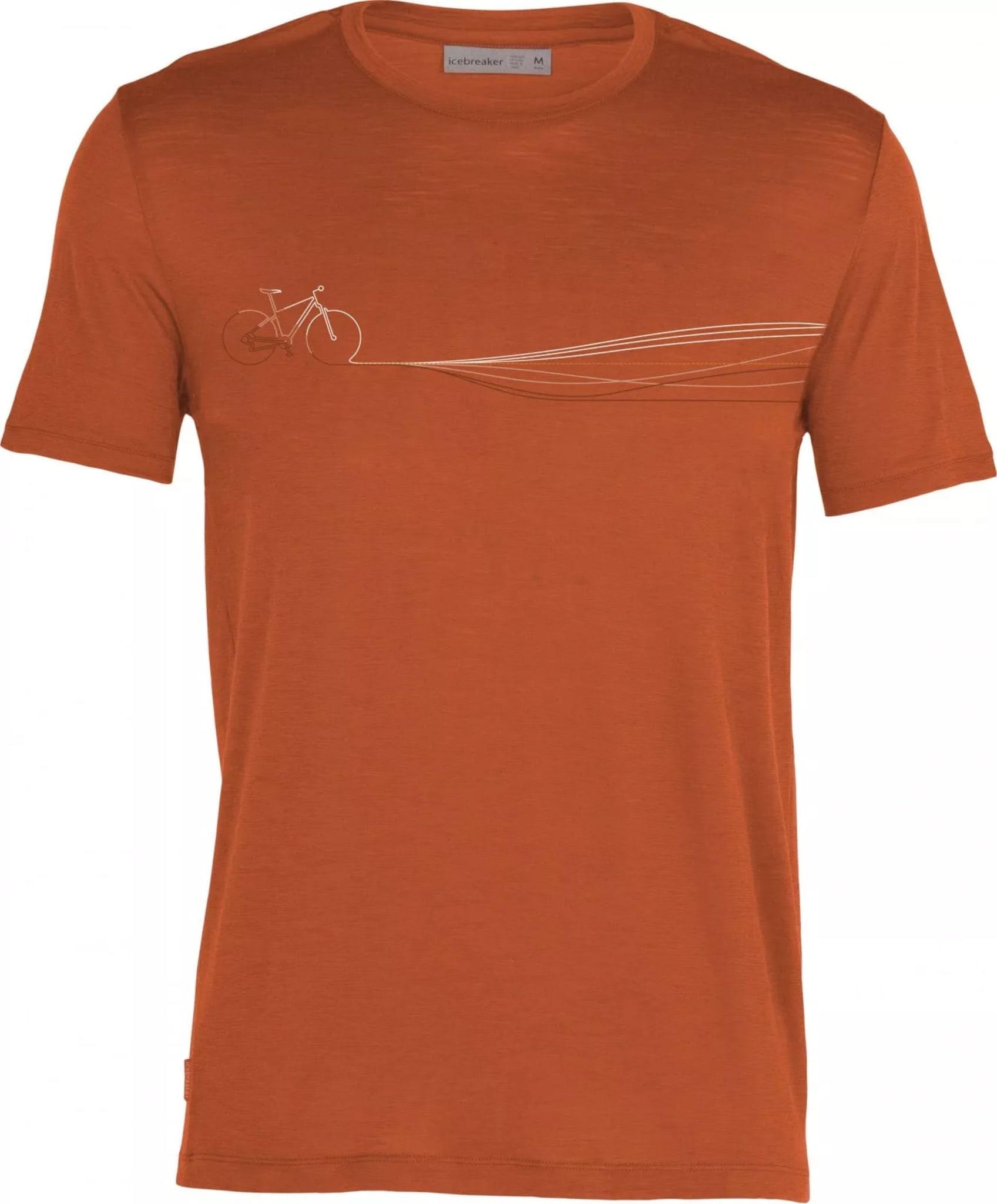 Superlett og pustene t-skjorte i merinoull i den tynneste ullstoffet til Icebreaker.