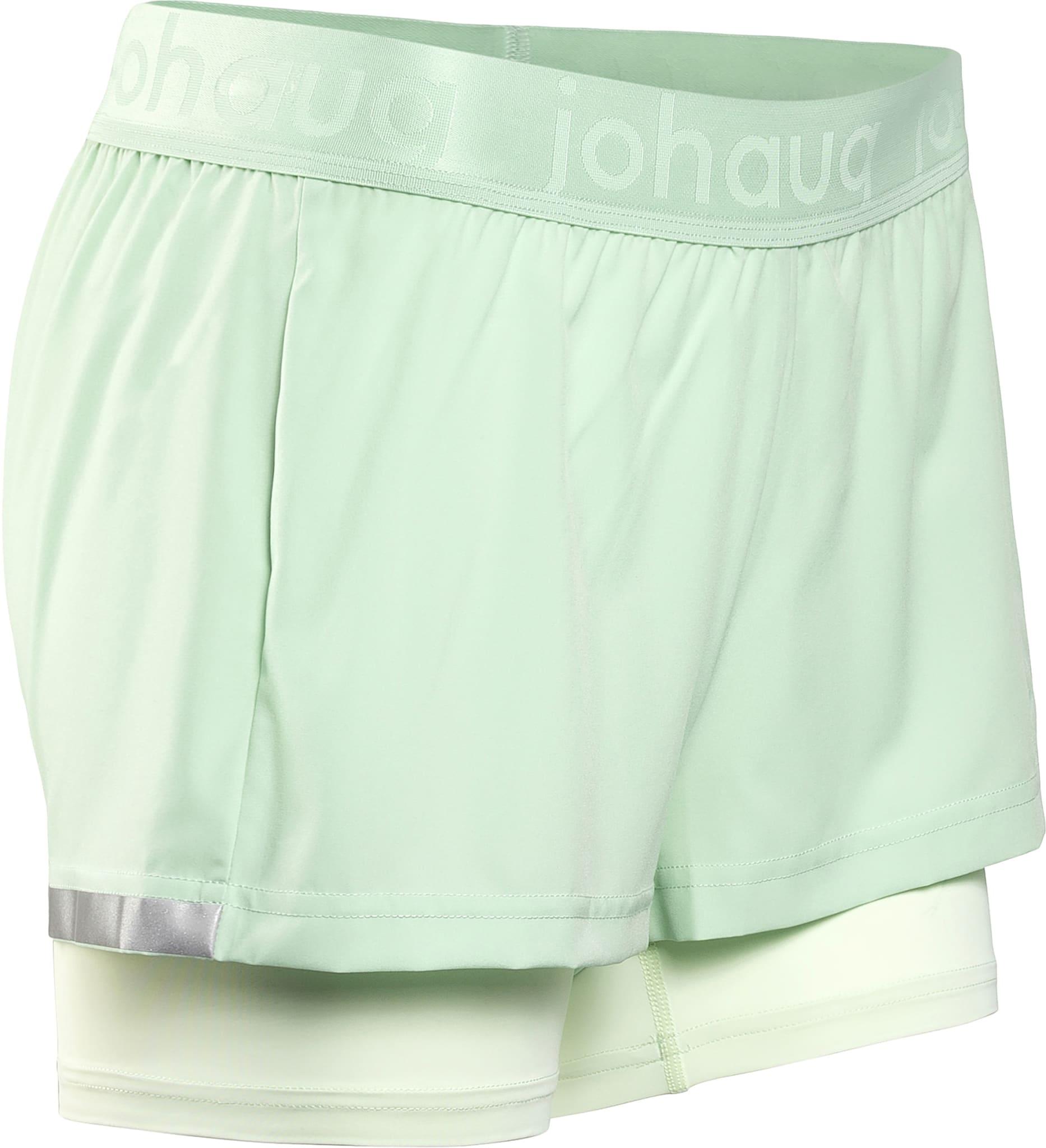 Lett, strechy og teknisk 2-i-1 trenings shorts