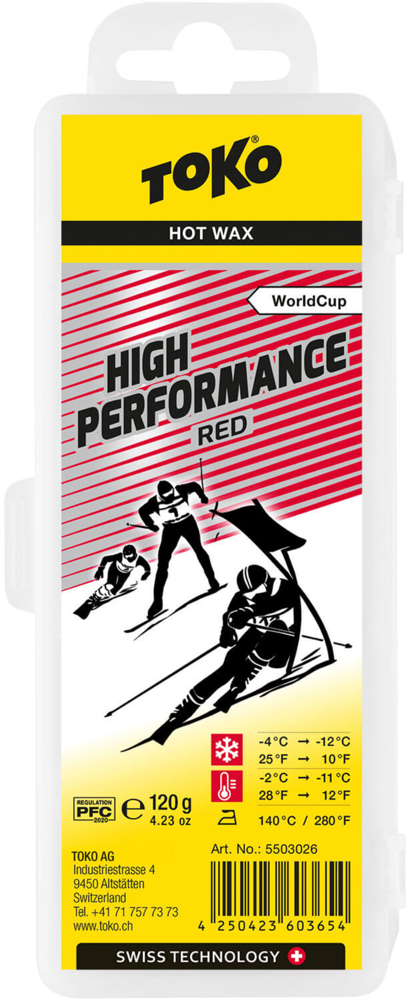 High Performance Red 120g