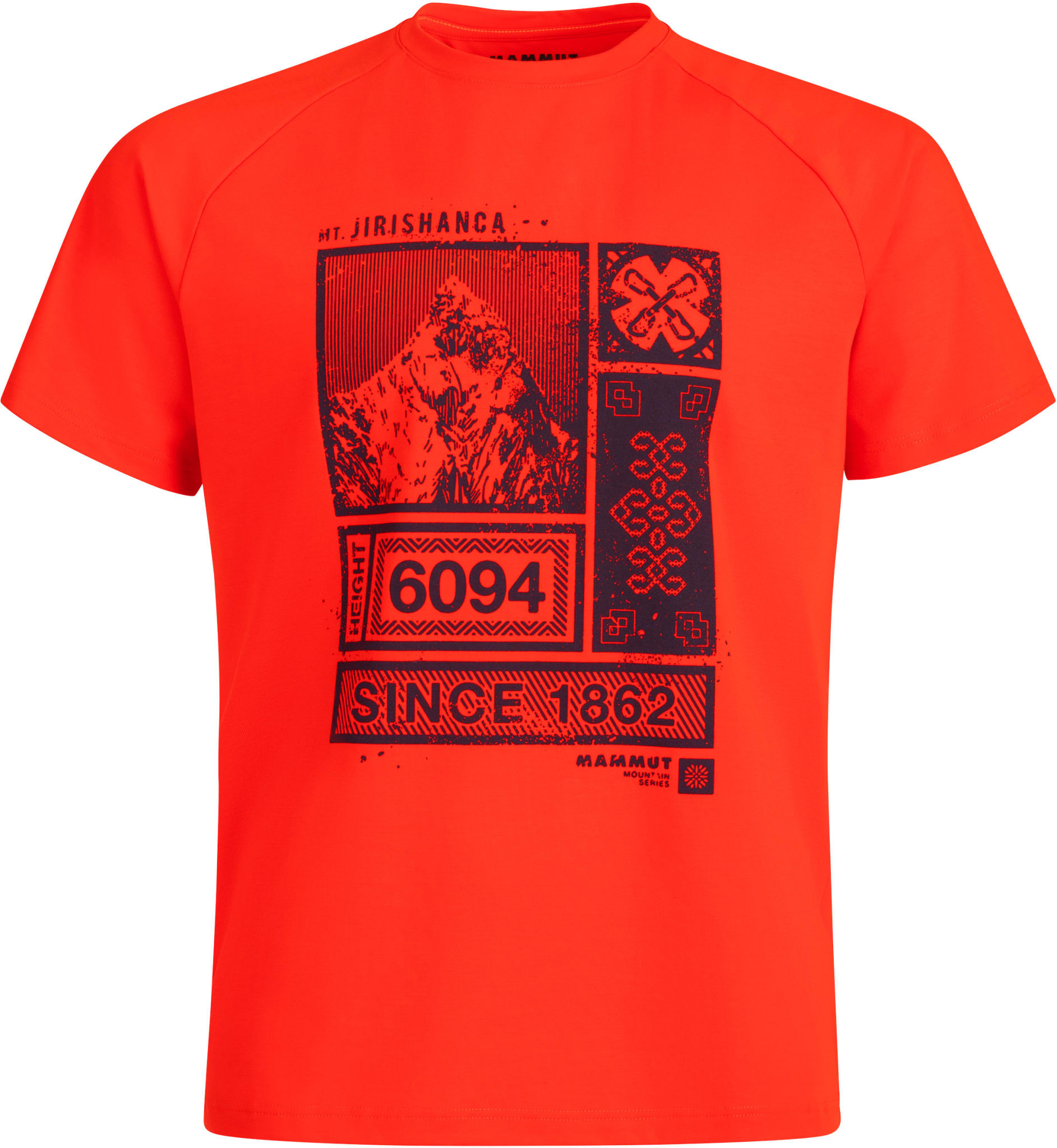 Deilig, myk t-skjorte med motiv