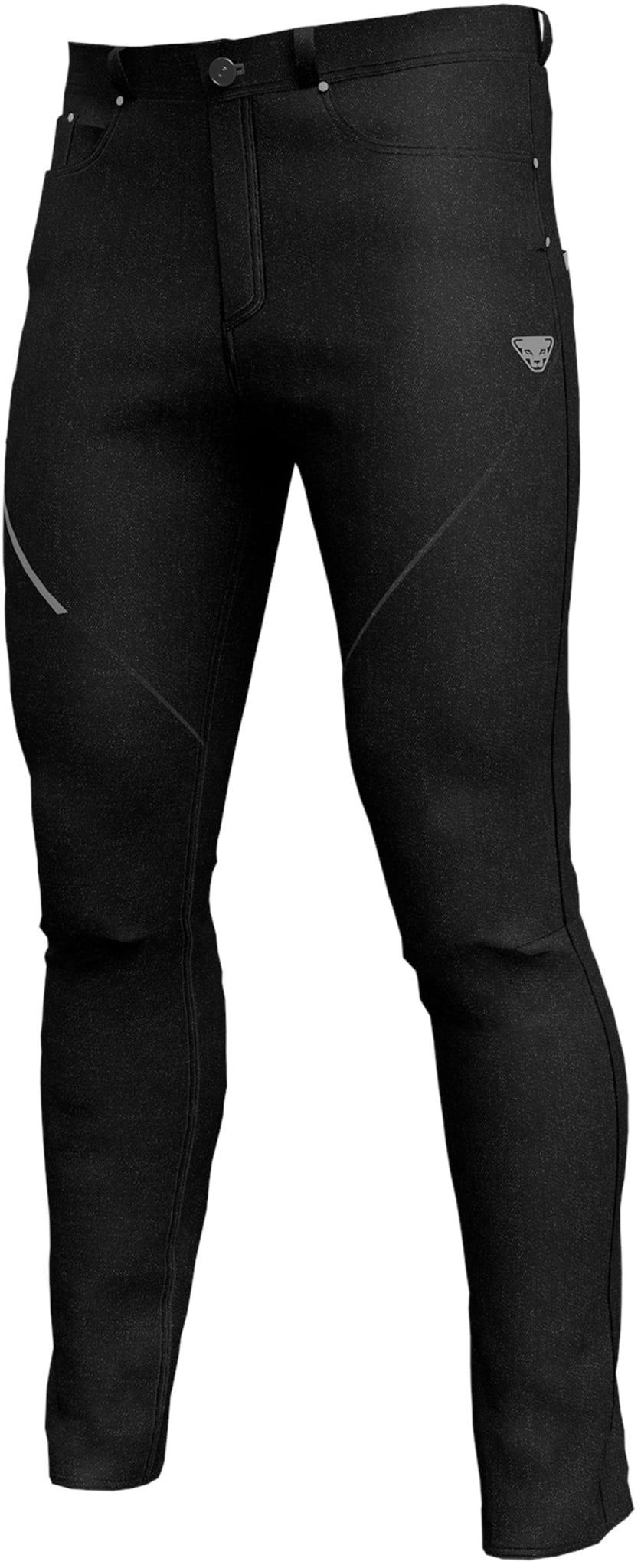 Lette softshellbukser med jeans-utforming