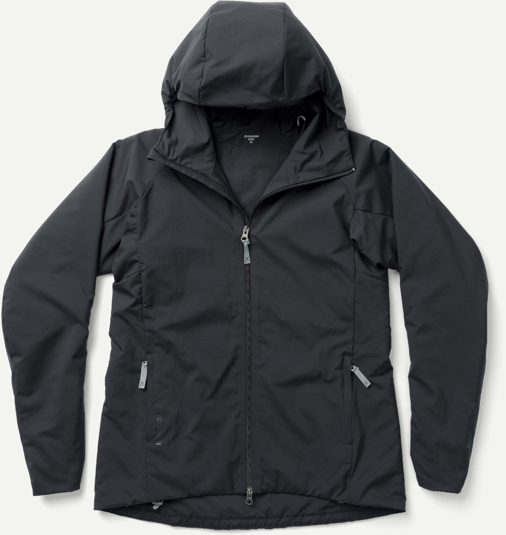 Isolert jakke som puster godt og kan brukes som mellomlag eller for seg selv