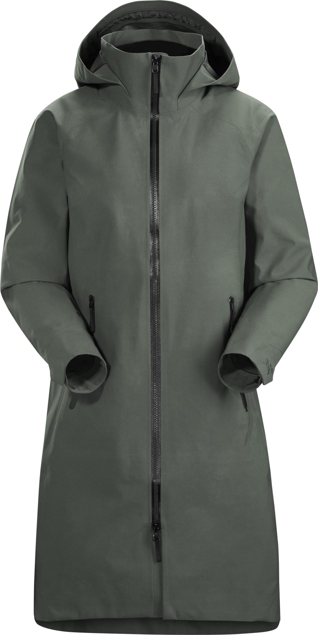 Urban frakk i knelengde med GORE-TEX