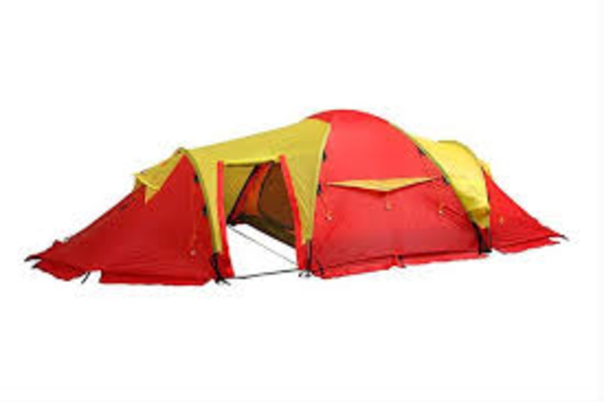 Trolig et av de teltene i verden med mest ekspedisjonserfaring