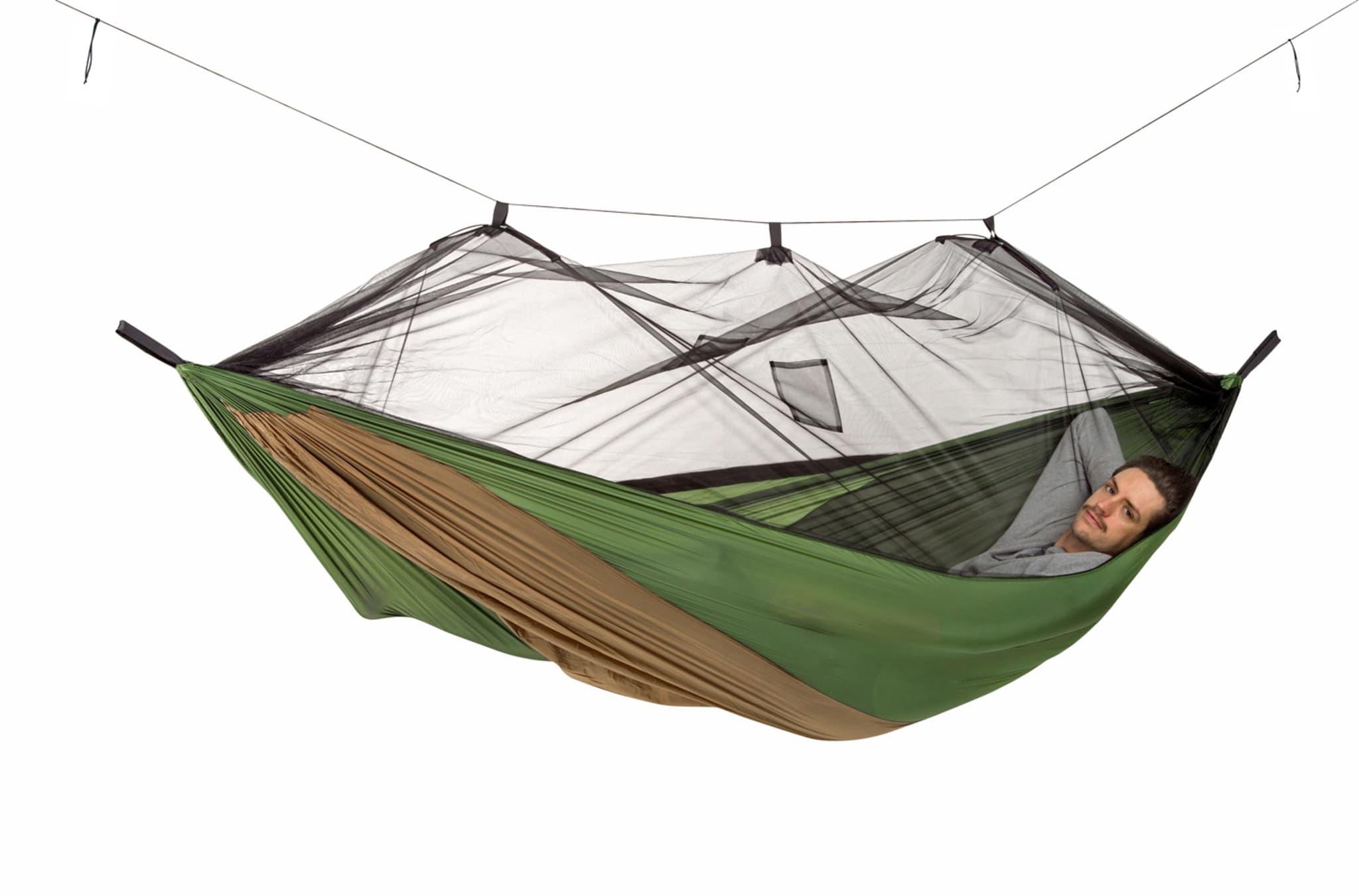 Komfortabel og handy hengekøye til varme sommerdager!