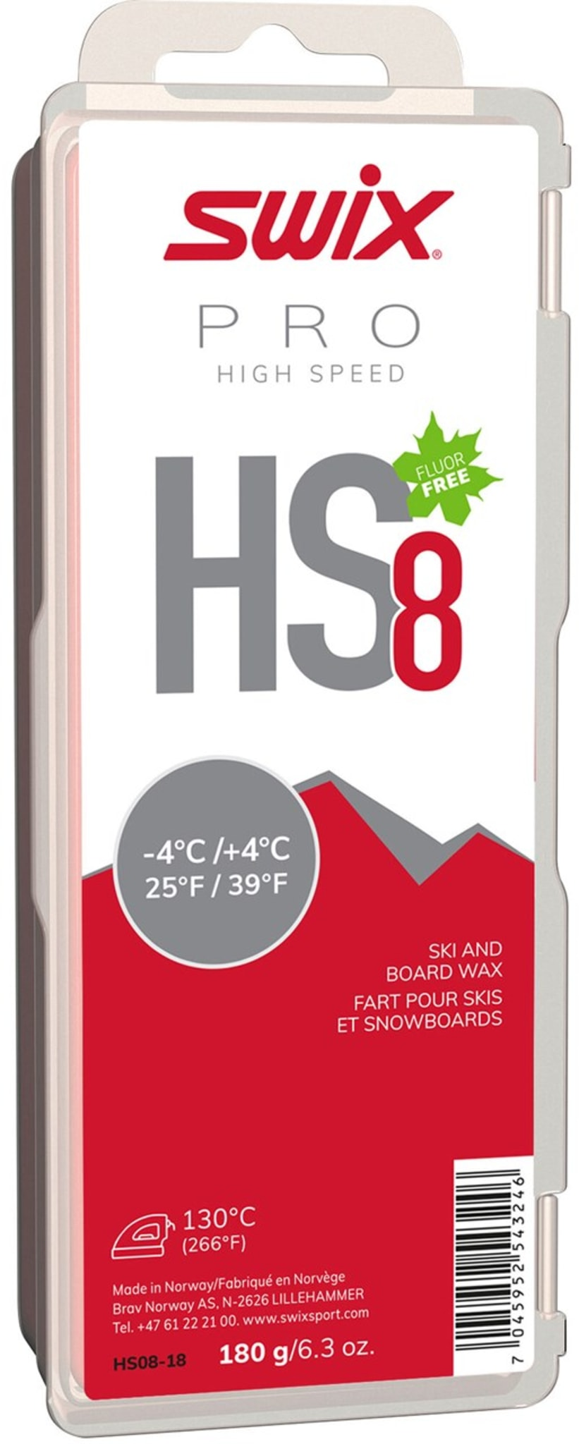 HS8 Red 180g