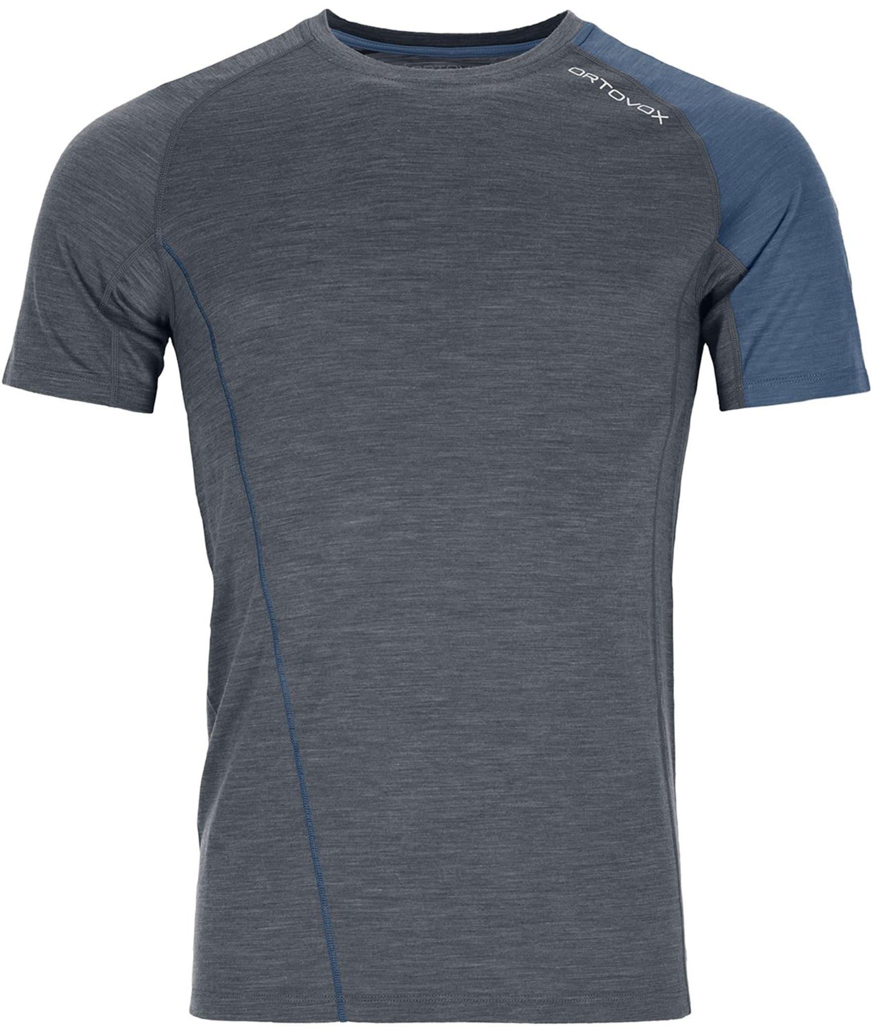 Funksjonell og elegant t-skjorte i merinoull
