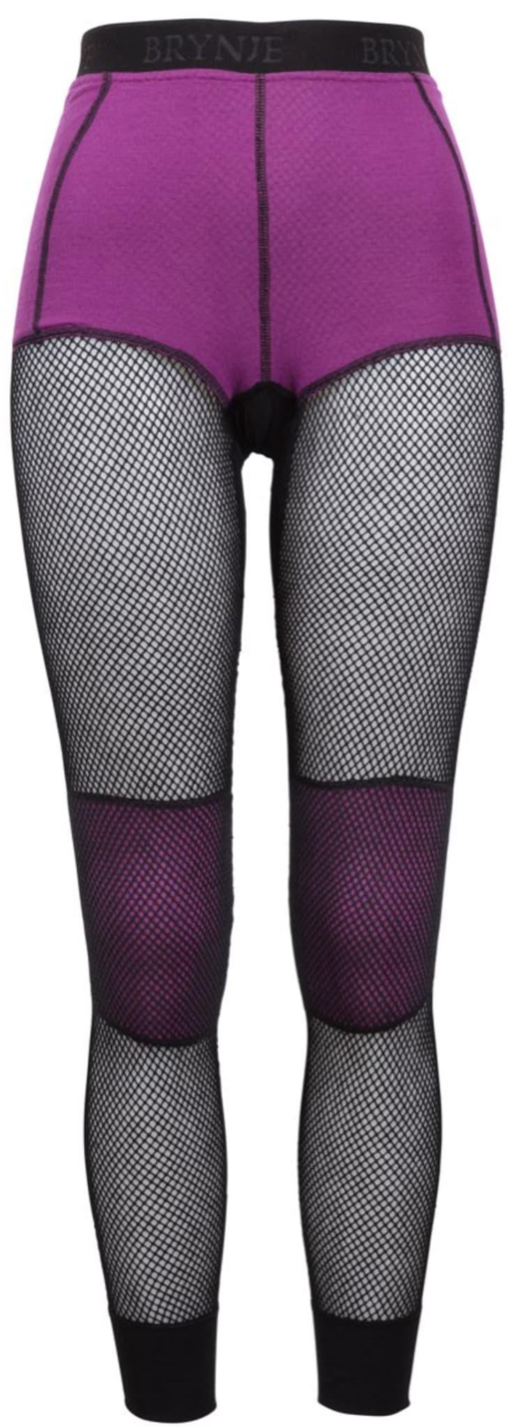 Longs med integrert boxer og innlegg på kne for bedre komfort.