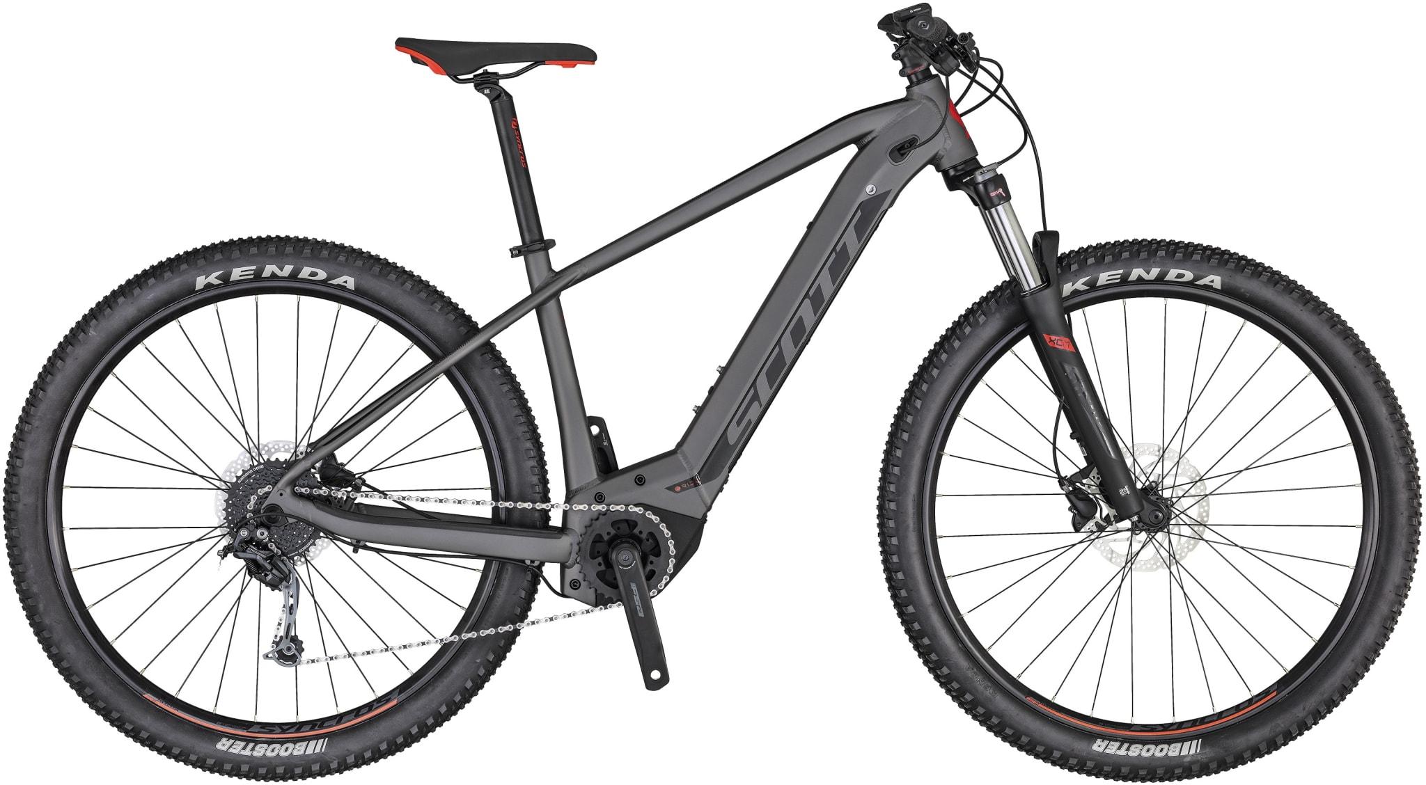 Allsidig og komfortabel e-terrengsykkel for de lange turene!