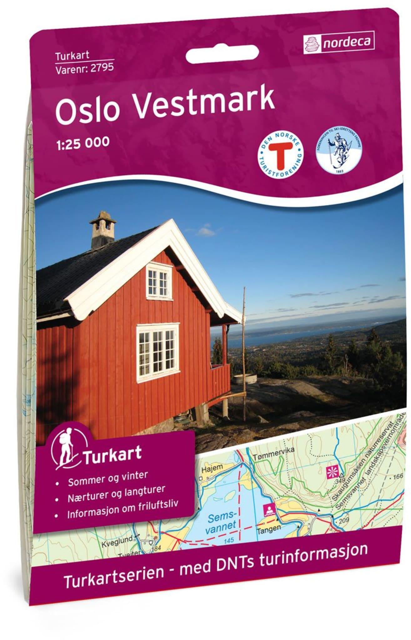 Oslo Vestmark 1:25 000