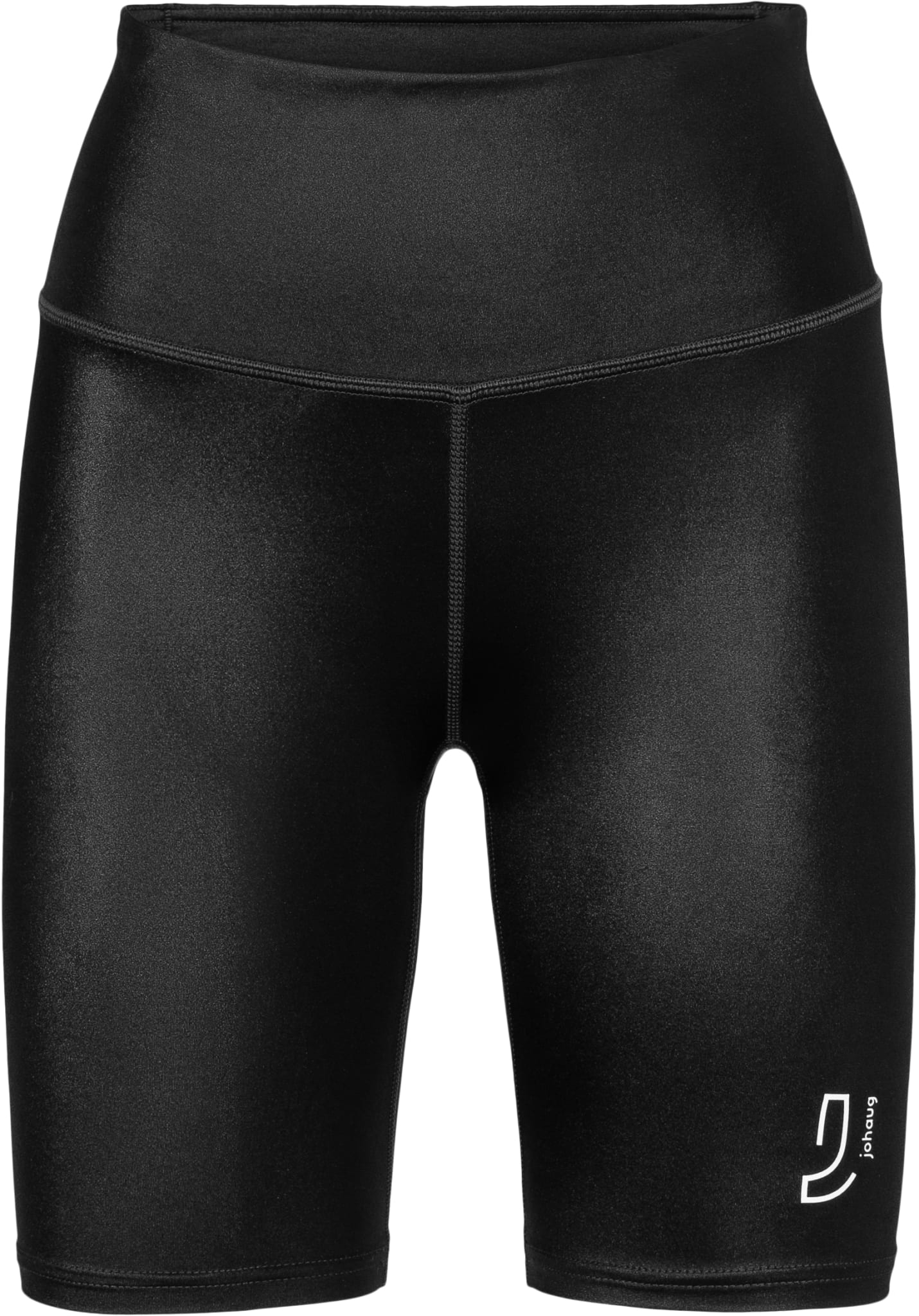 "Trendy ""biker shorts"" med høyt liv for all type trening"