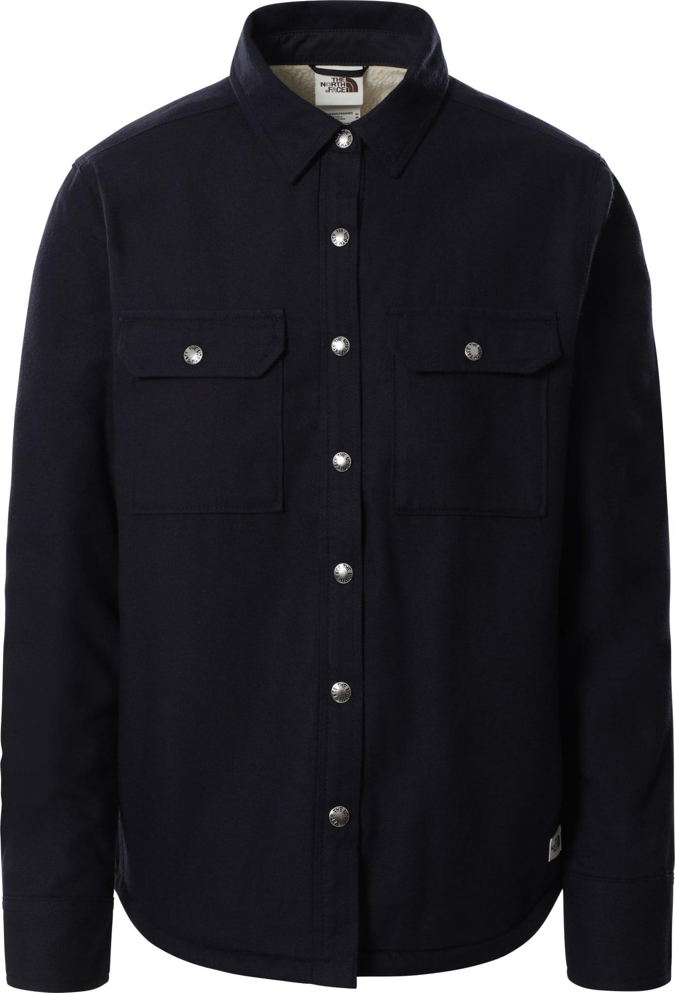 Varm og kul skjorte med sherpa fleece!