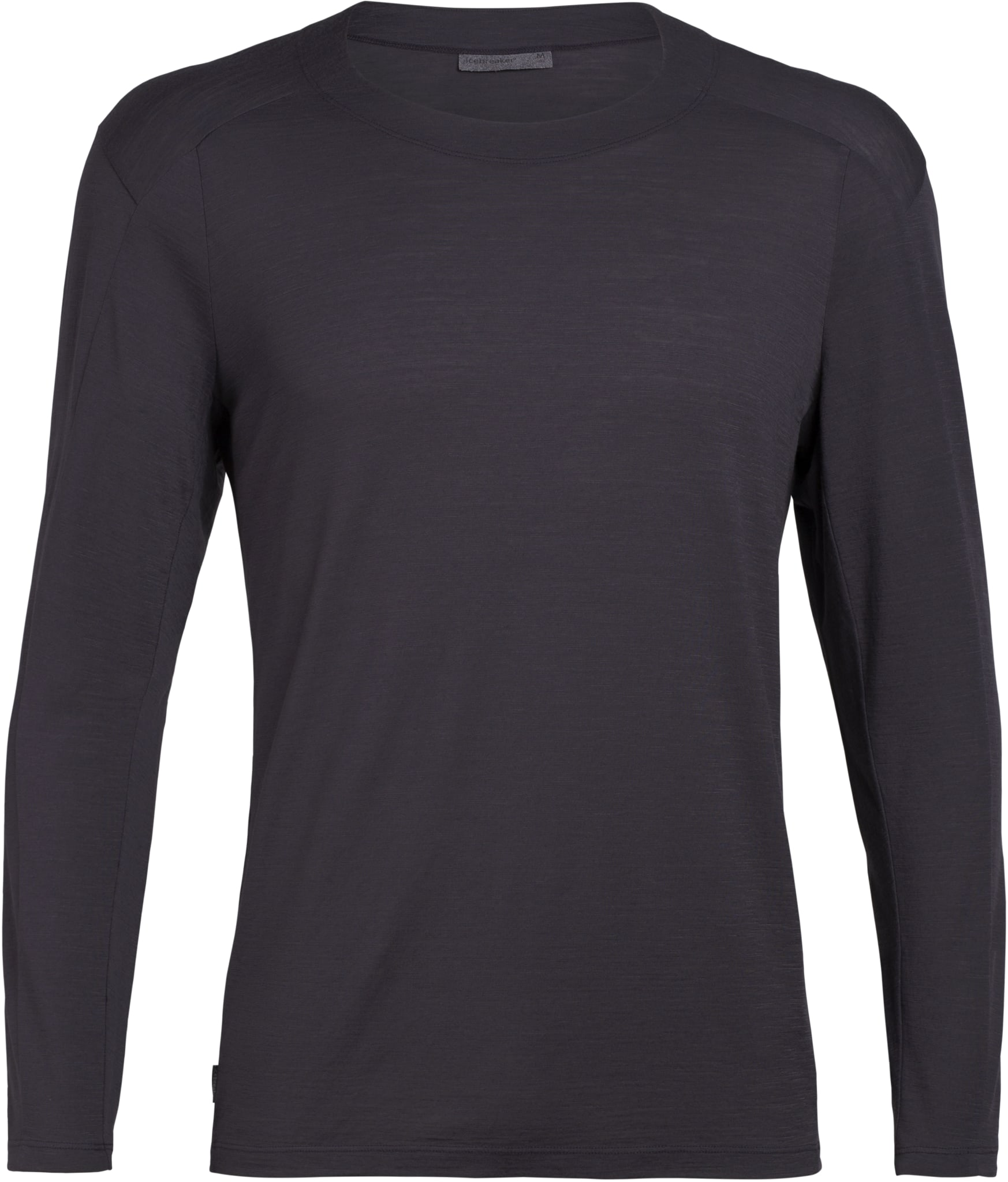 Lett og luftig langermet skjorte i merinoull med stilig utseende