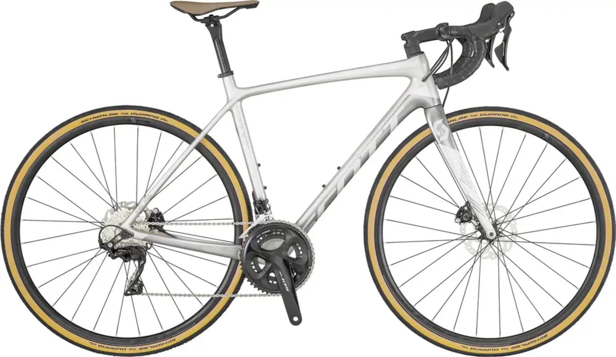 Godt utstyrt Scott Contessa Addict 25 med disc, laget for kvinnelige syklister