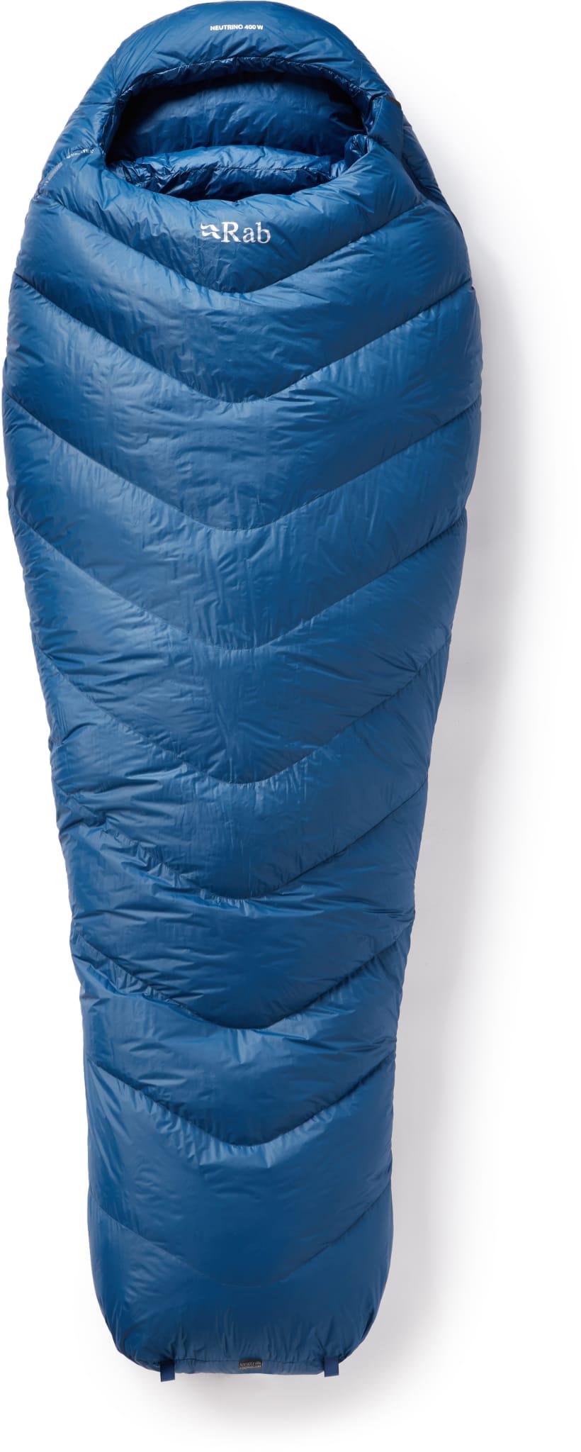 Svært lett sovepose til vår, sommer og høst med 800 FP andedun