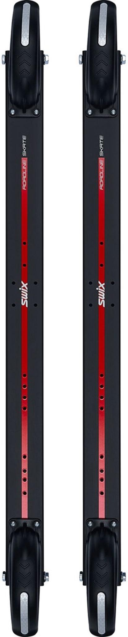Skøyterulleski med lang stamme og lavt tyngdepunkt, som er lettest i sin klasse.