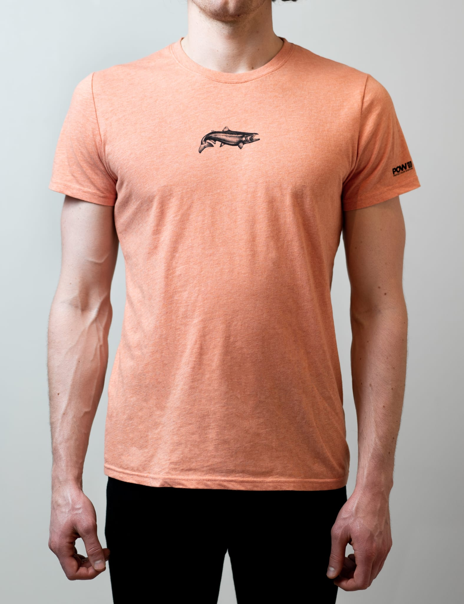 Super Hero Tee: The salmon