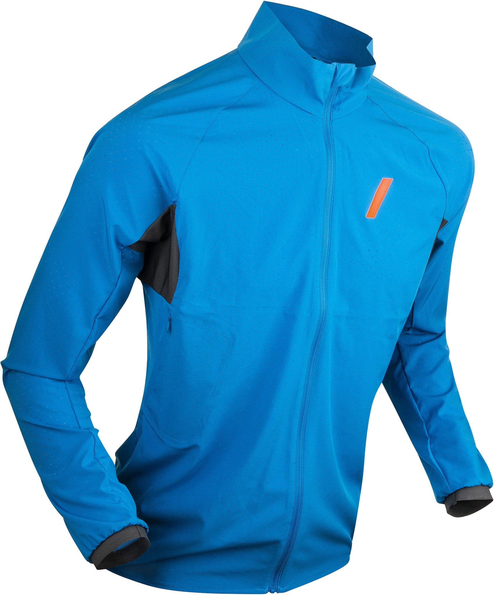 Ultralett løpejakke til herre for de kjøligere sommerdagene