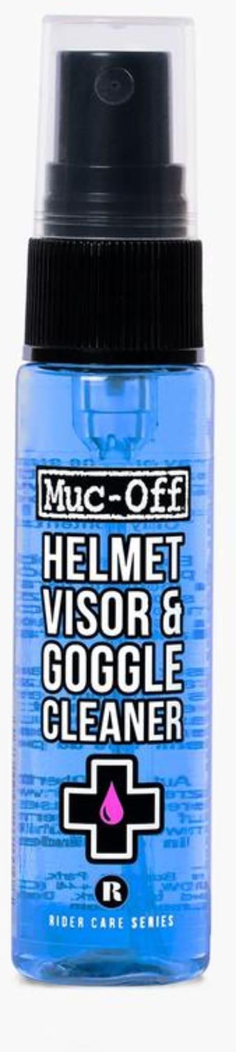 Fin og praktisk spray for enkel rengjøring, perfekt til skitne ski og sykkelbriller.
