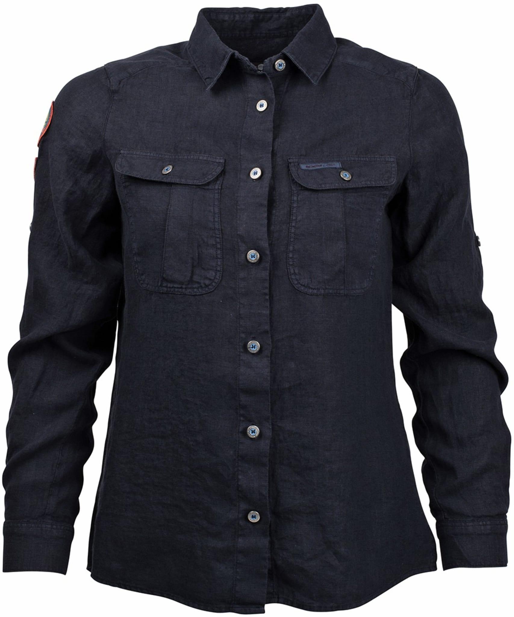 Linskjorte laget med spesiell fargeprosses for det ultimate utseende