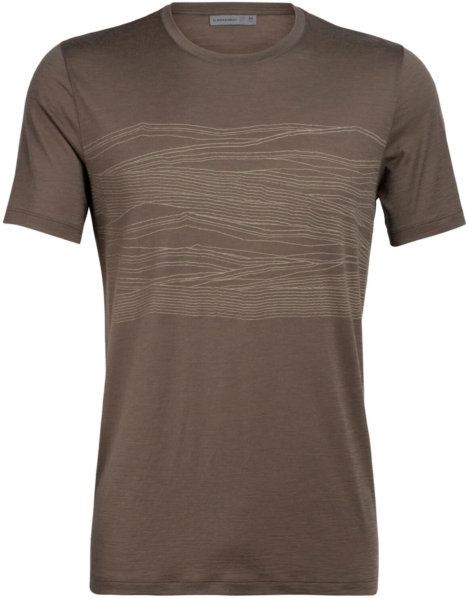 Supermyk t-skjorte i merinoull med print