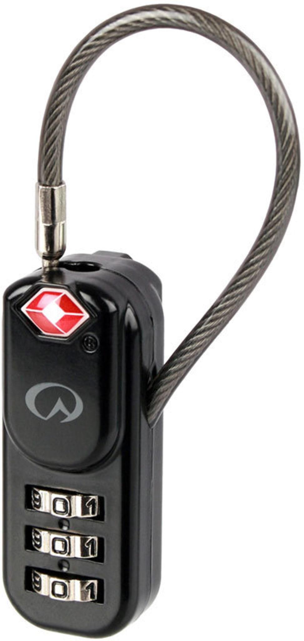 Kodelås for å enkelt låse glidelåser på all bagasje