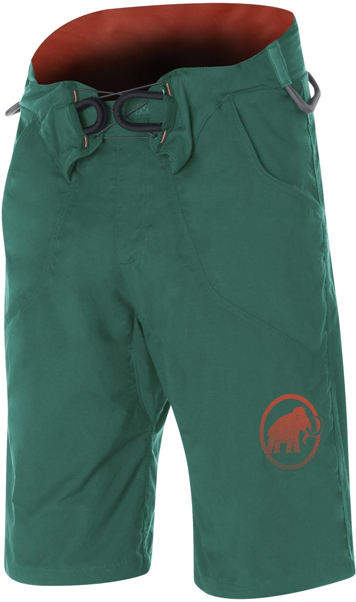 Shorts med innebygd klatresele og fire utstyrsløkker