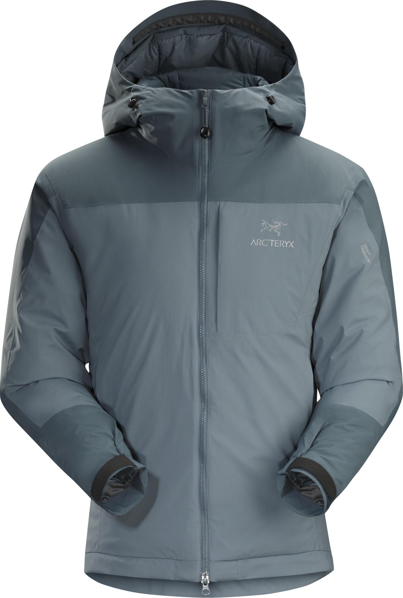 Tykk syntetisk isolasjonsjakke med windstopper ytterstoff.