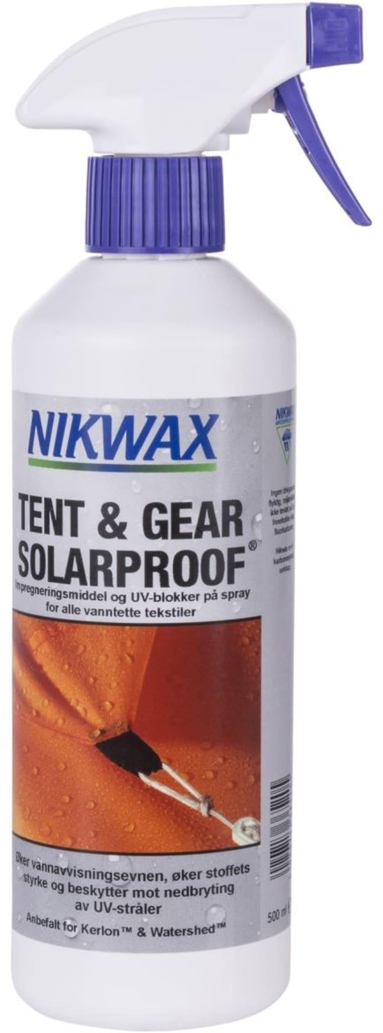 Impregnering til bruk på telt, ryggsekker og lignende