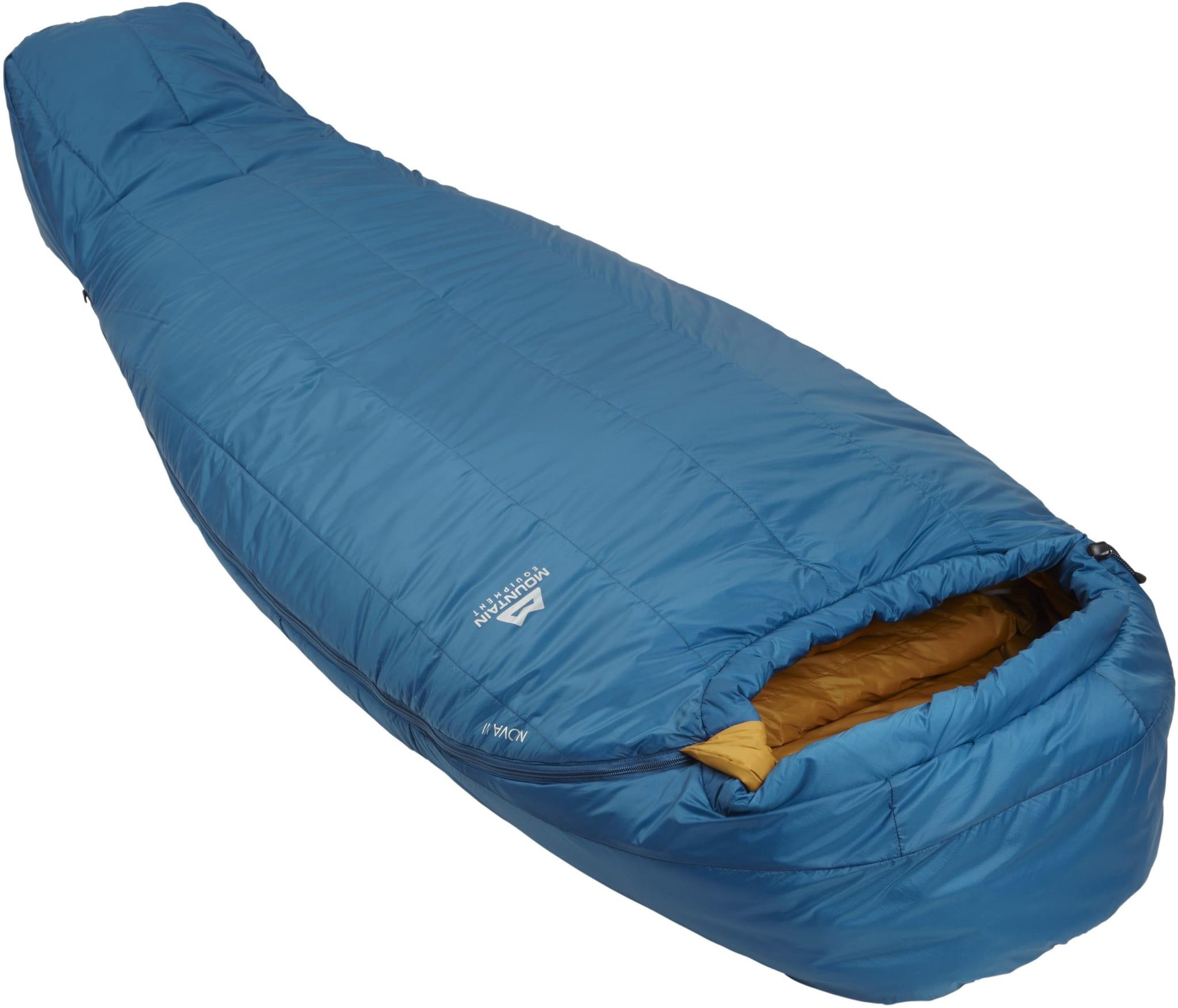 Syntetisk 3-sesongers sovepose med bra forhold mellom varme og vekt