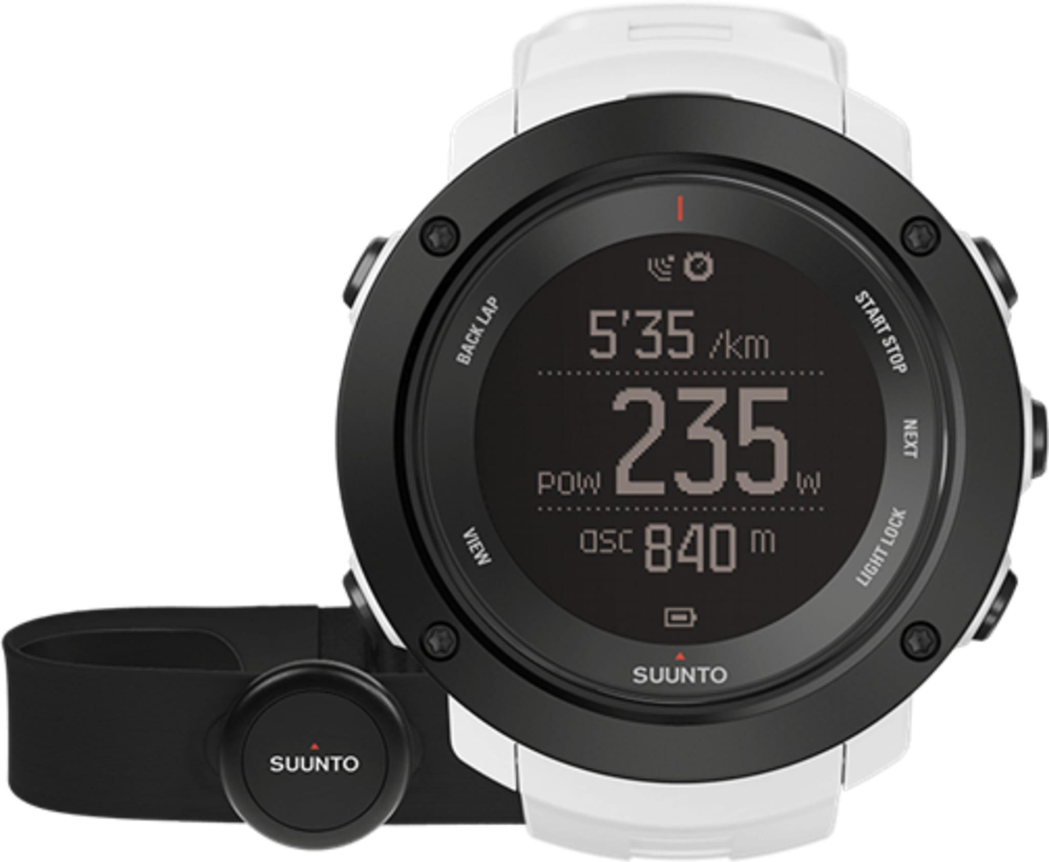 Rå multisportklokke med GPS og puls!