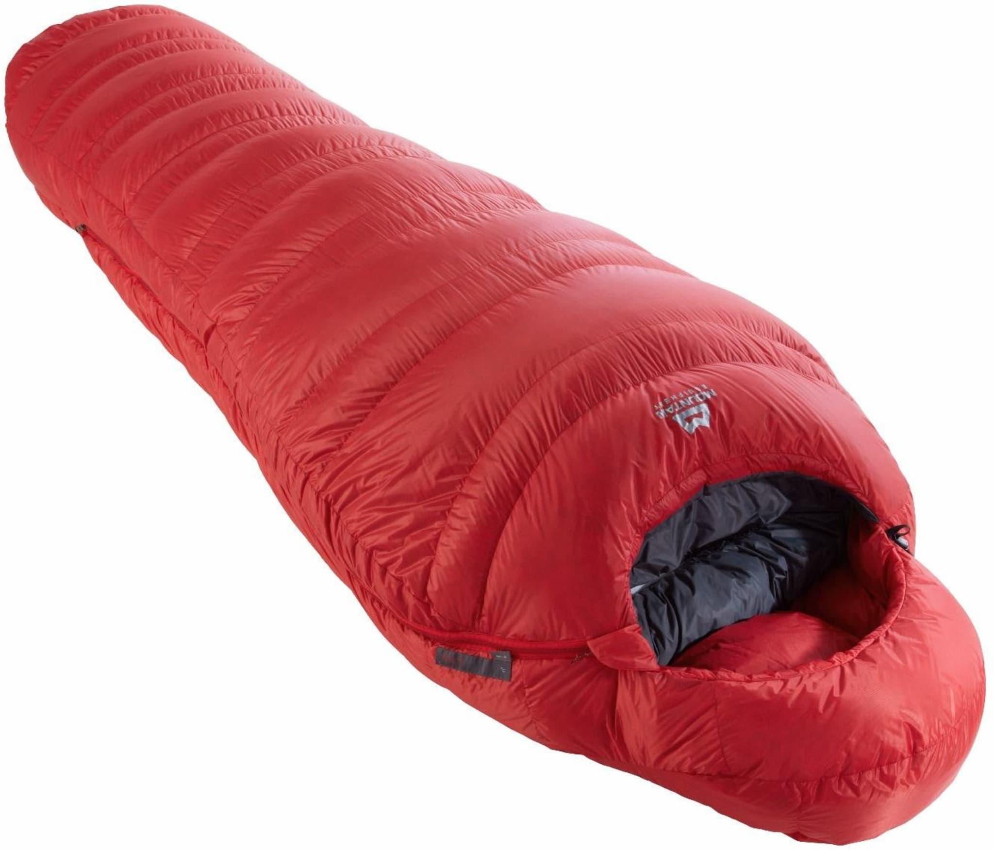 Superlett sovepose til lett vinterbruk eller alpinisten som jager gram