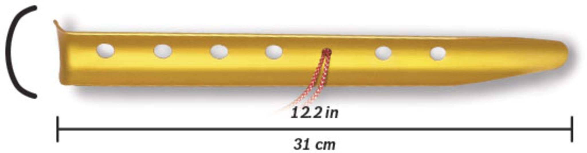 6-pk. snøplugger med line og krok