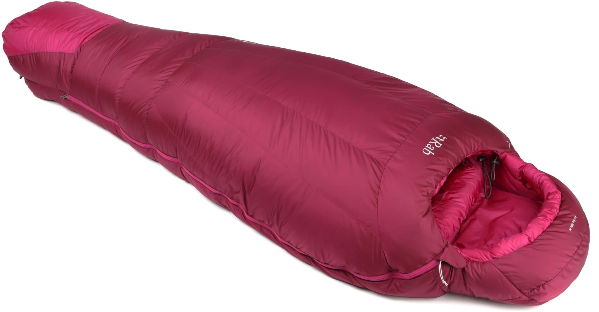 Perfekt dunpose for vinterturene