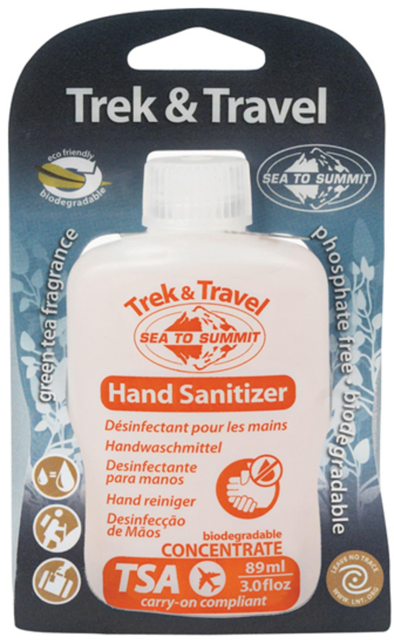 Desinfiserende håndvask for reise og tur