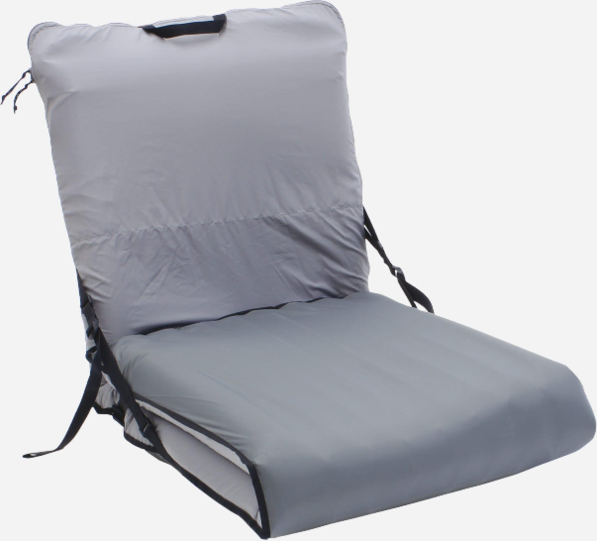 Genial sak som forvandler ditt Exped liggeunderlag til en komfortabel stol.