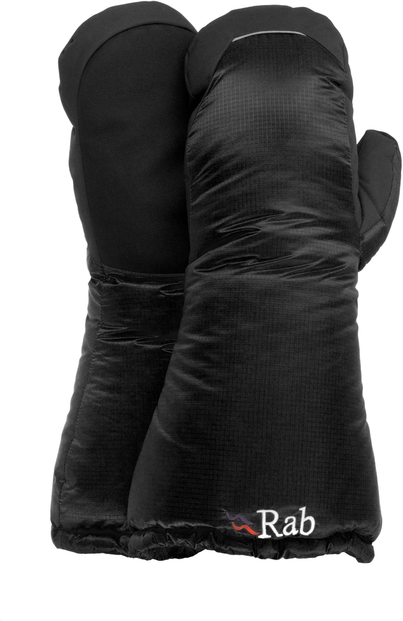 Svært varm dunvott med forsterket grep i håndflaten