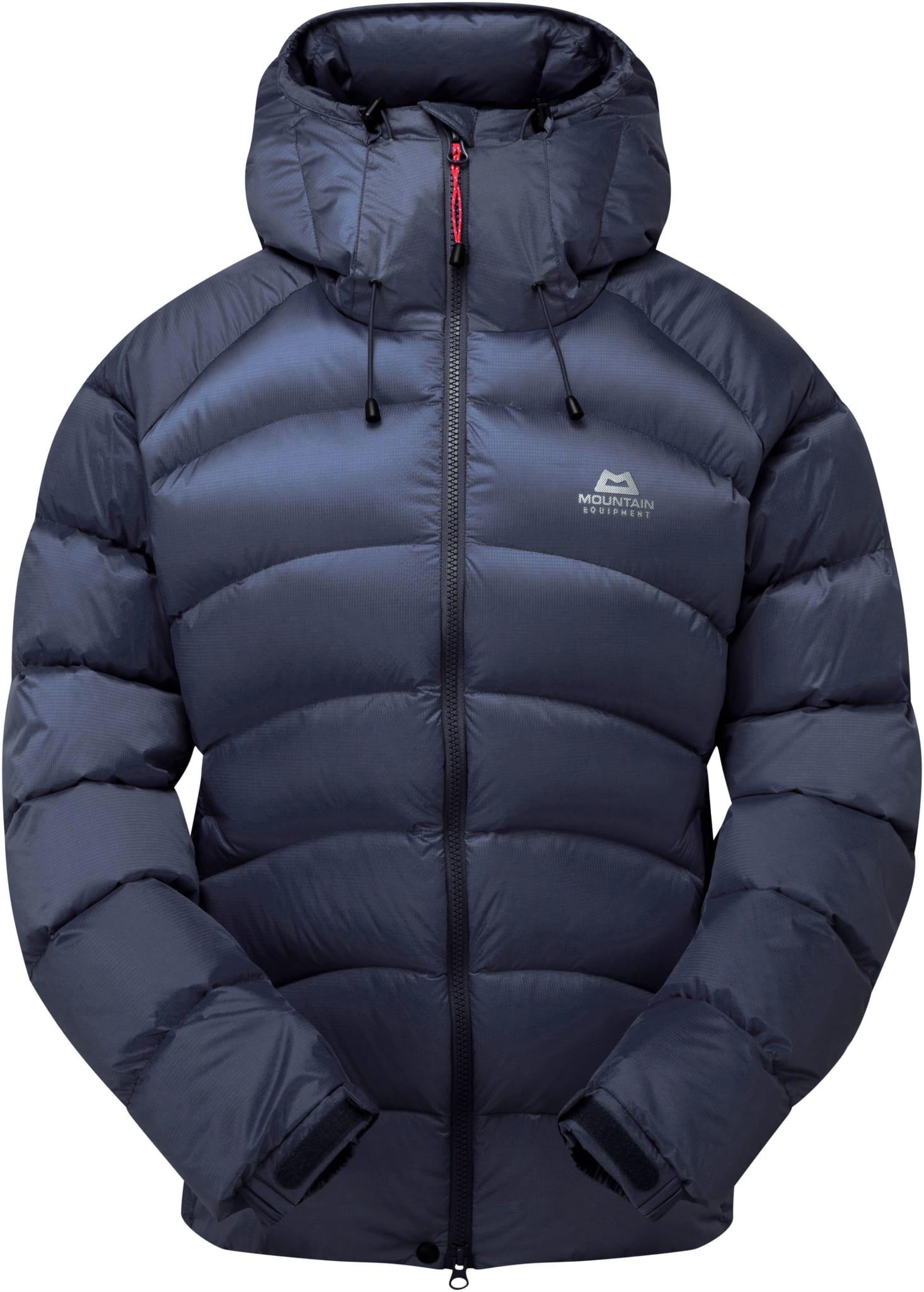 Lett, varm og rask jakke for fjellsport vinterstid