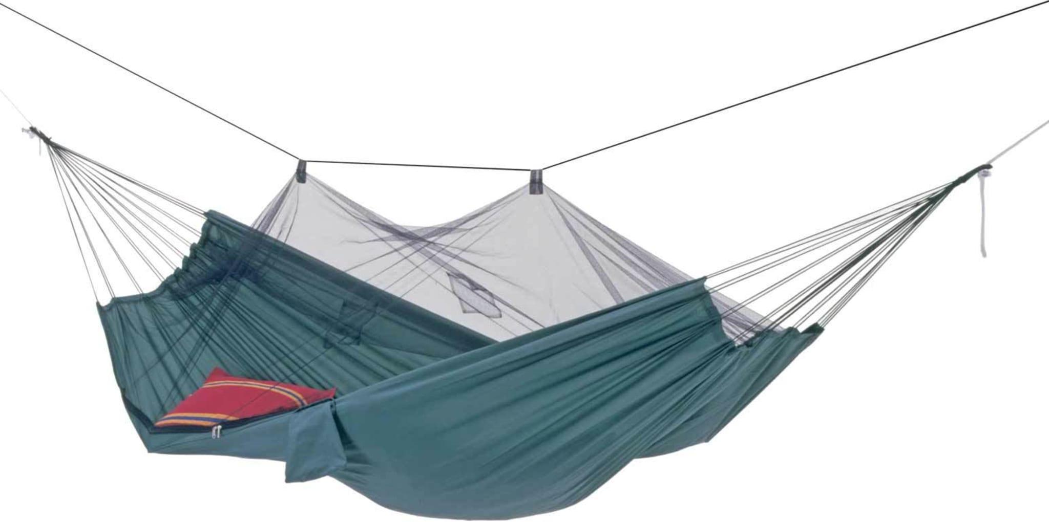 Solid og komfortabel hengekøye med integrert myggnett