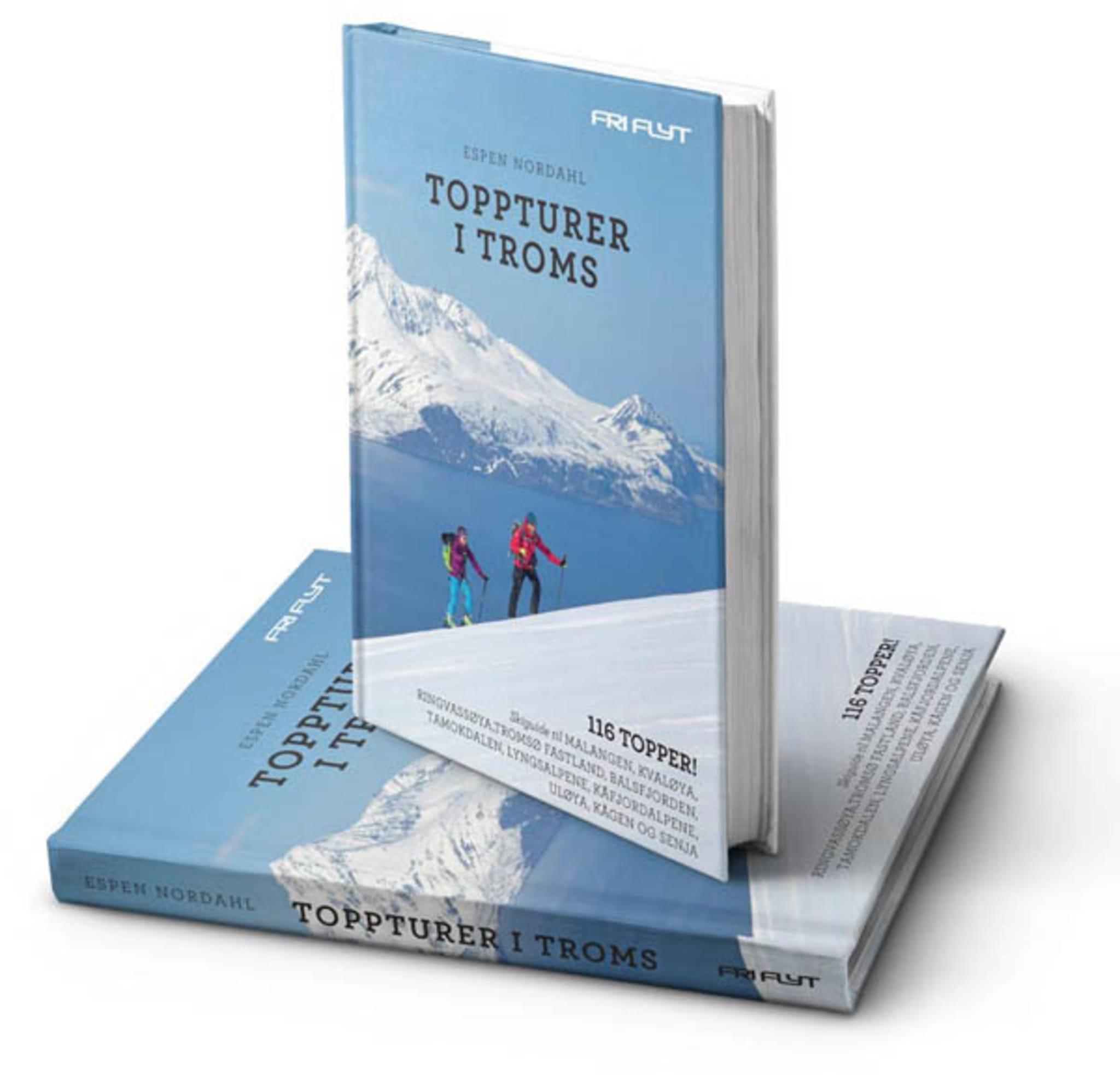 Revidert utgave av Toppturer i Troms