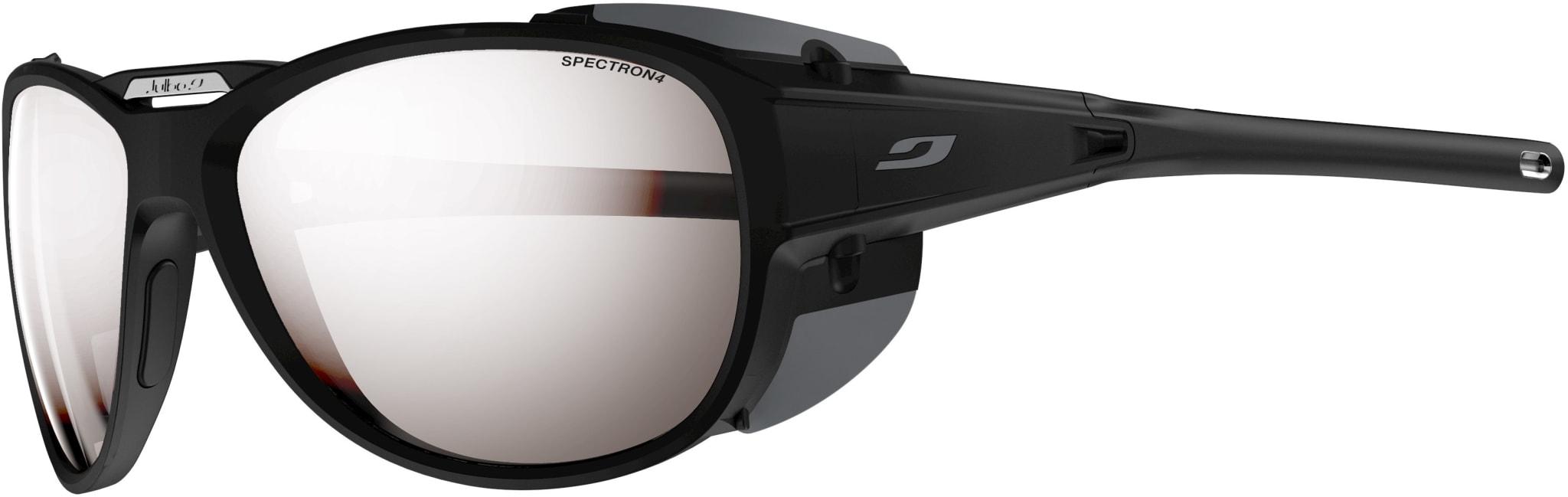 Lett brille med kategori 4 linser og avtagbare sidebeskyttere!