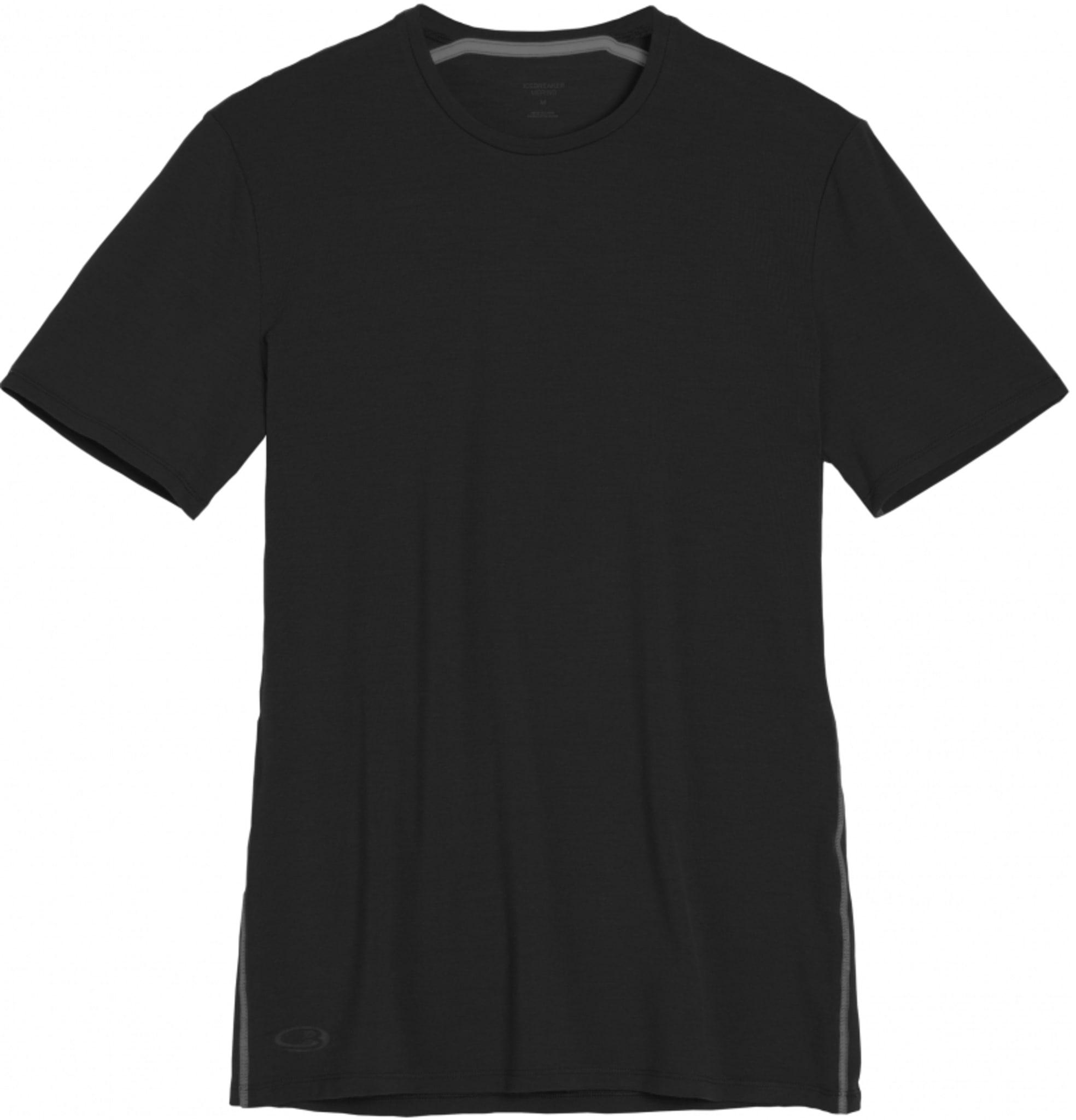 Tynn og lett t-skjorte i ull fra Icebreaker med litt tettere passform