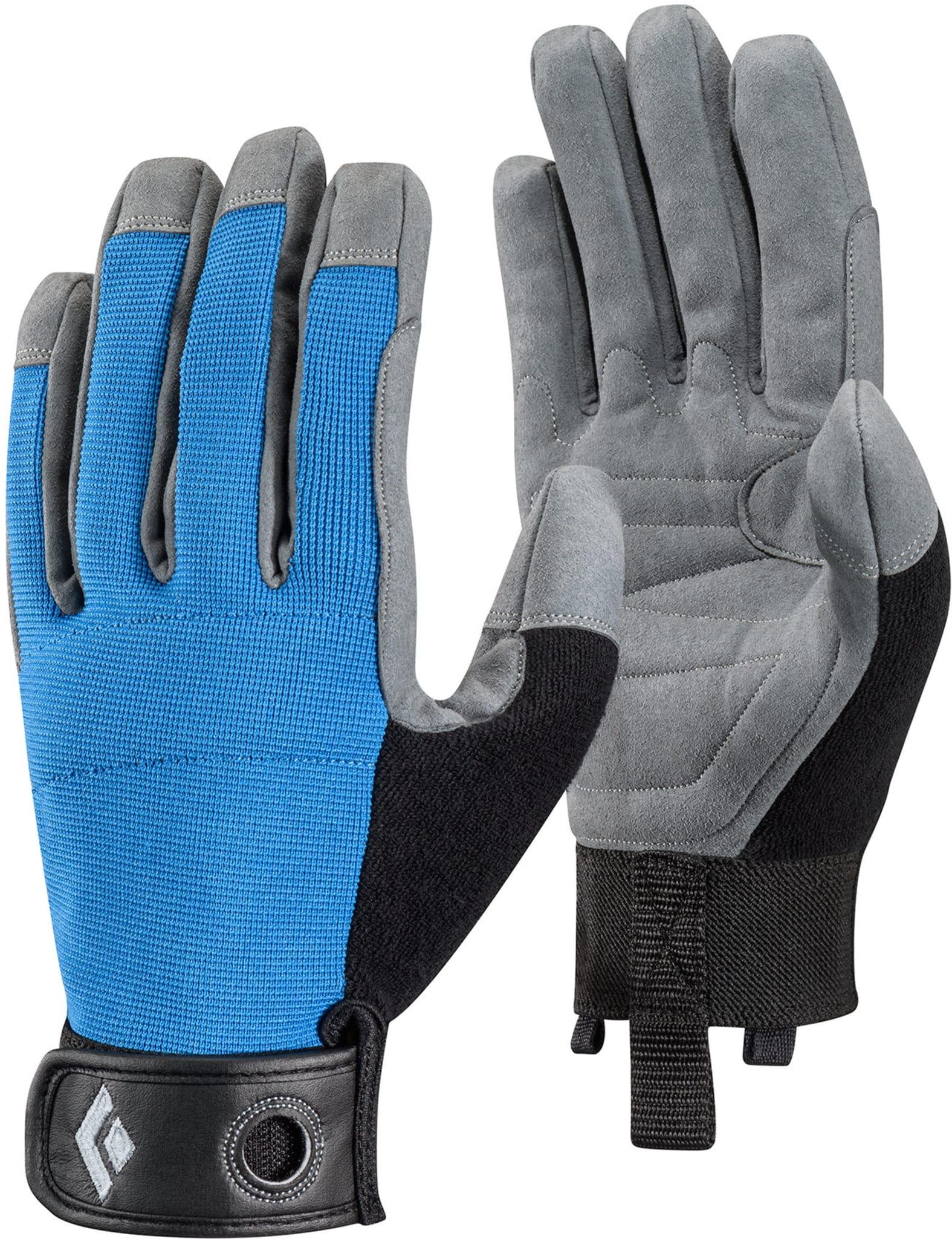 Lett, luftig og slitesterk hanske for sikring, rappeller og annen taukontakt