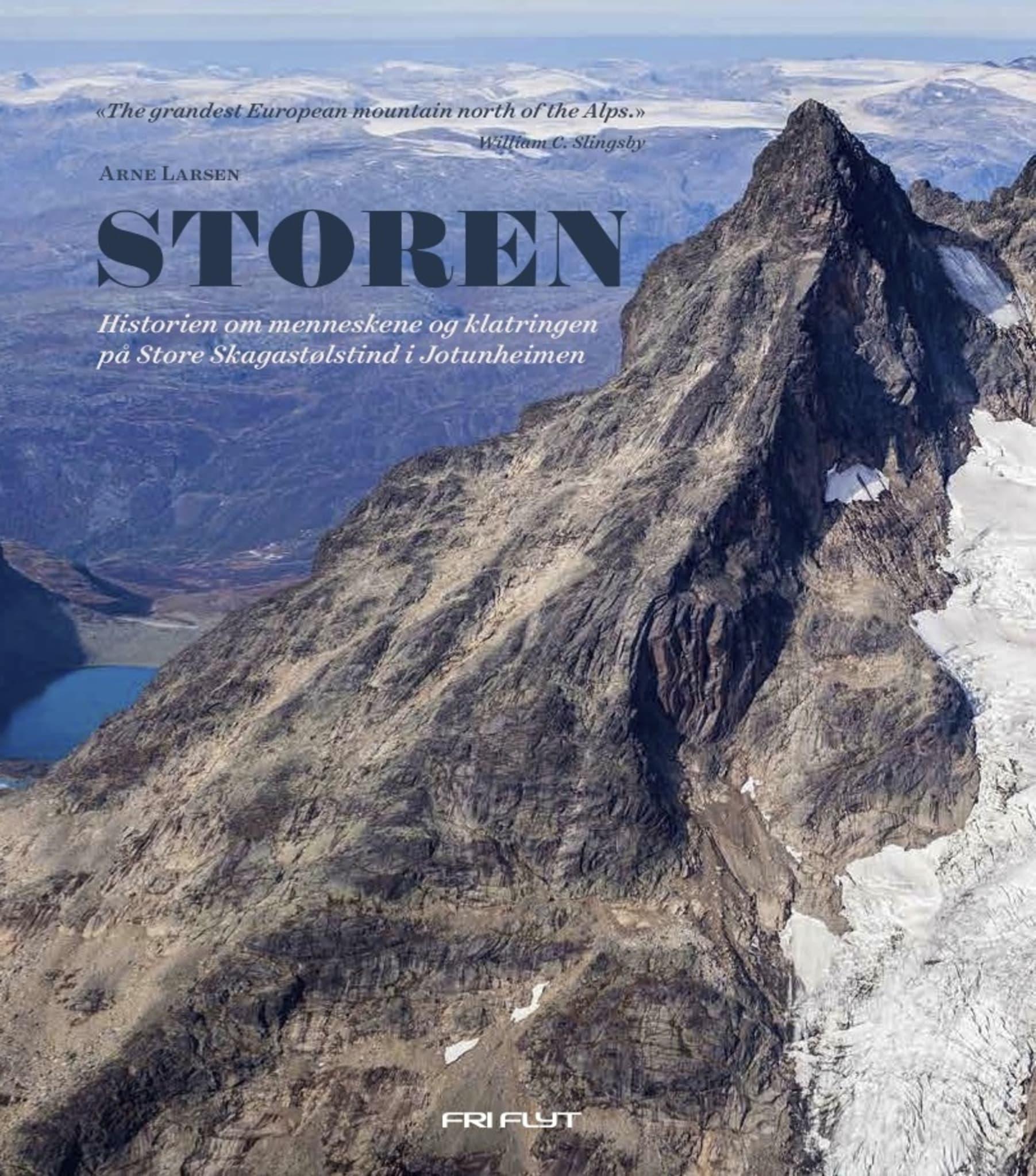 Hele historien om klatringen på Store Skagastølstind.