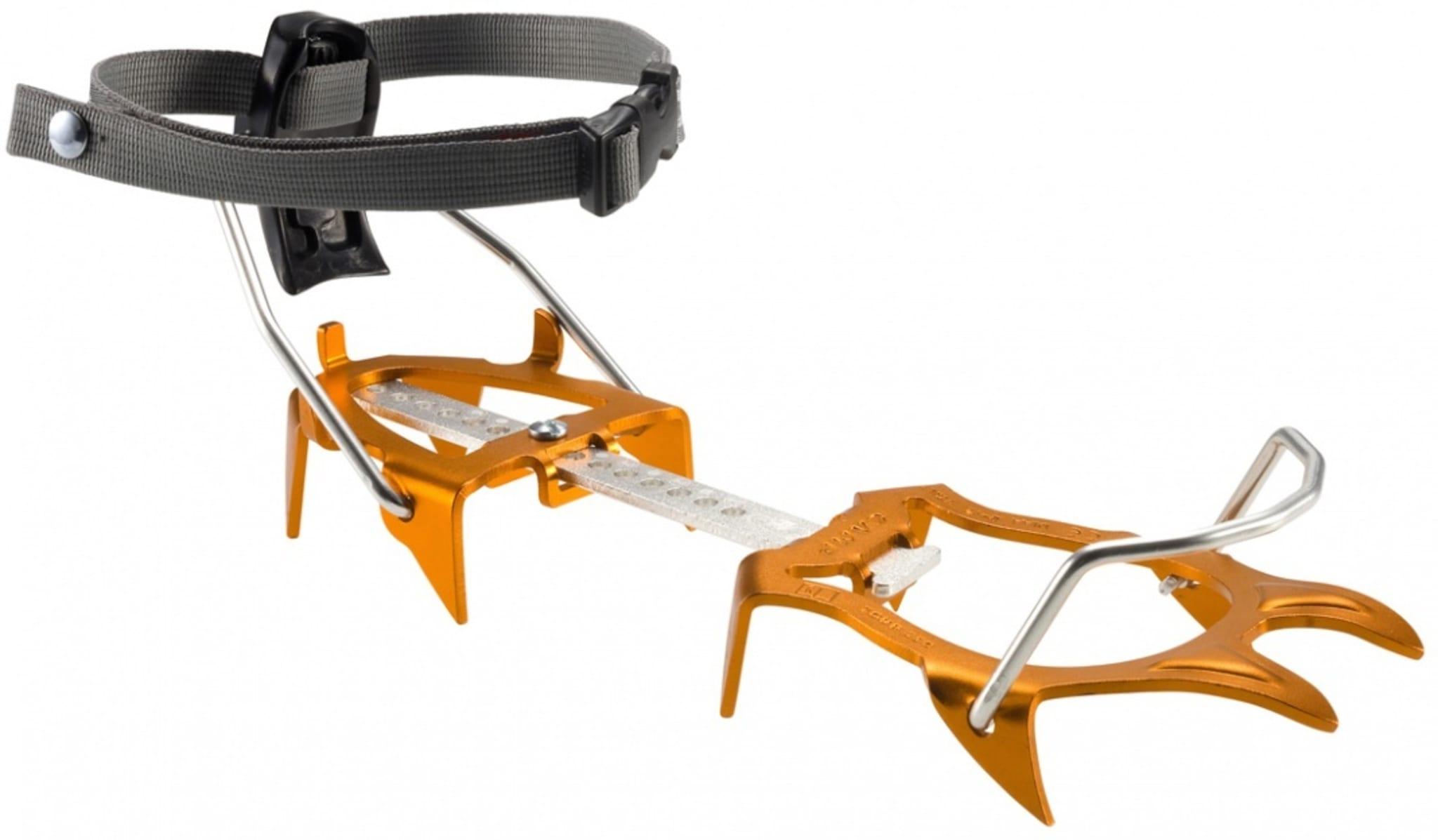 Passer fint på stive  fjellski og telemarkstøvler med 75mm
