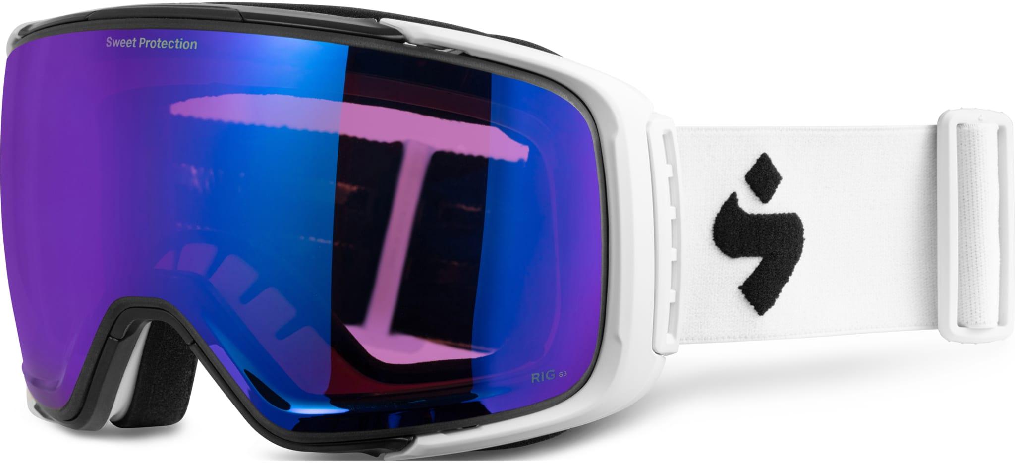 Frikjøringsbrille for den kravstore med dobbelt sett RIG glass