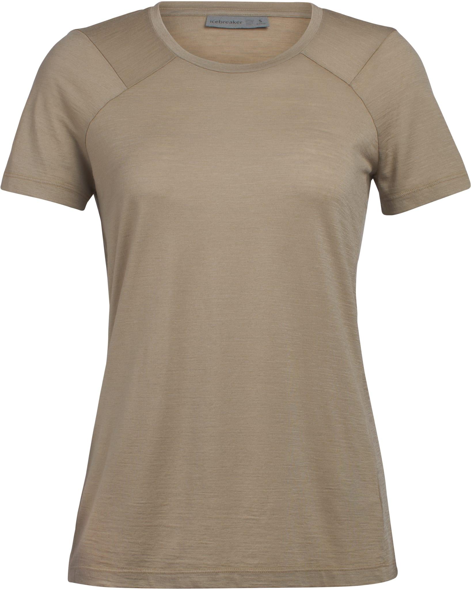 Lett og luftig t-skjorte i merinoull som er farget med naturlige plantepigmenter