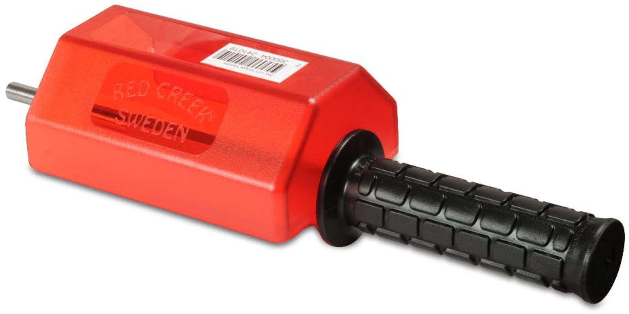 Håndtak med aksling for bruk med 140mm Rotorbørster fra Red Creek